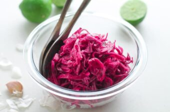 Garlic Lime Red Cabbage Slaw Recipe-2