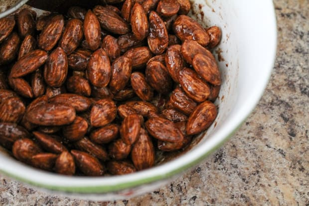 Maple Cinnamon Roasted Almonds - The Honour System