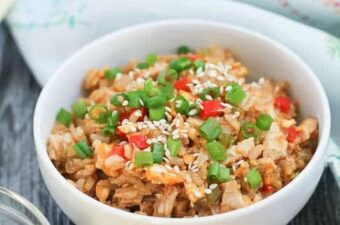 Chicken Fried Brown Rice Recipe