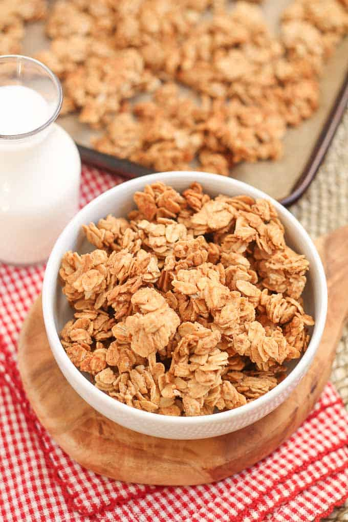 Five Ingredient Homemade Granola