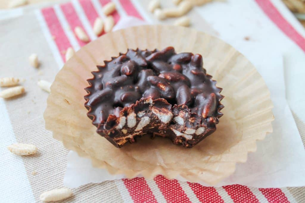 Chocolate Crunch Cups