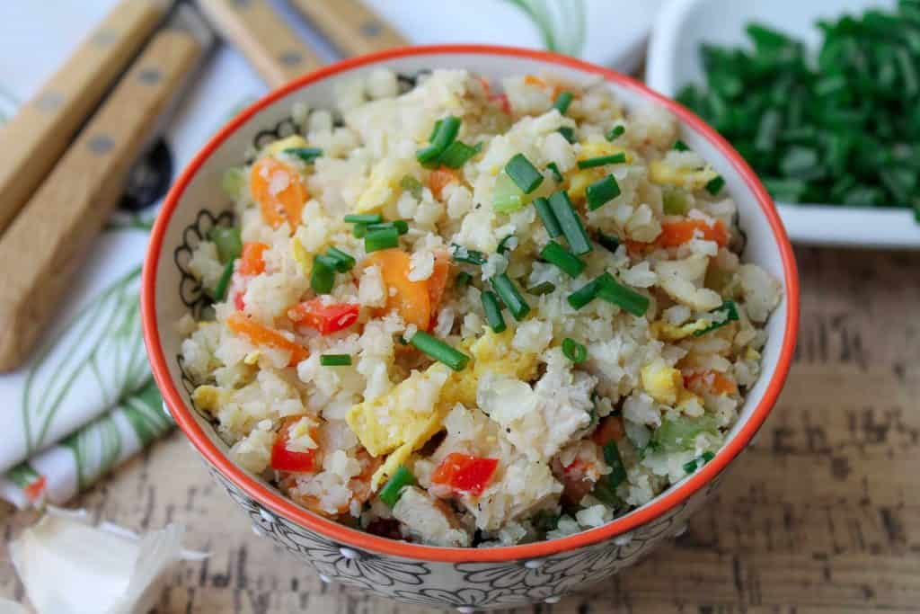 Chicken & Cauliflower Fried -Rice