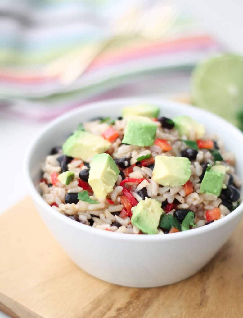 Fiesta Brown Rice Salad