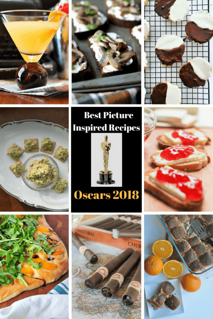 Best Picture Inspired Recipes Oscars 2018