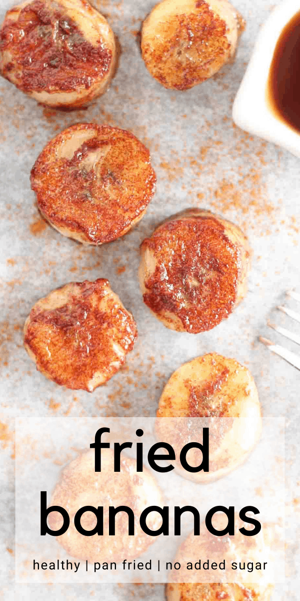 fried bananas pinterest image