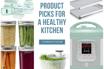 infographic for healthy kitchen products